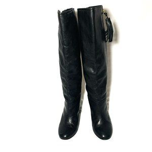Coach Women Leather  Boots Size 8.5